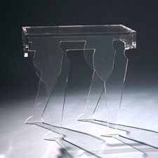 Cleo Table Clearly Classic - Clear