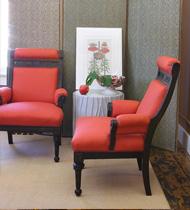 Pair 19th Century Armchairs