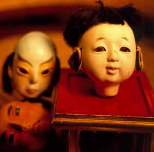 Japanese doll heads