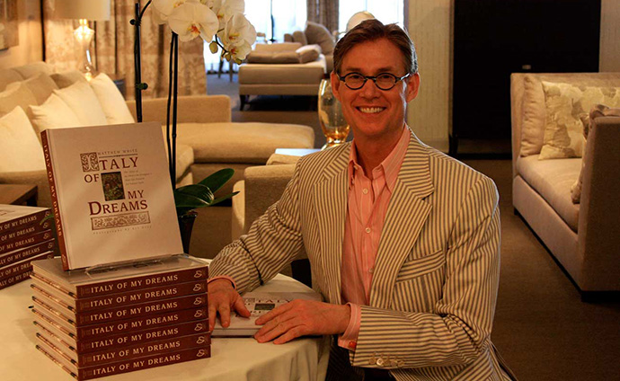 Donghia Celebrates Matthew's First Book and White Webb's Clearly Classic Collection