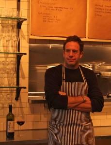 David Wurth, proprietor and chef at the CrossRoads FoodShop.