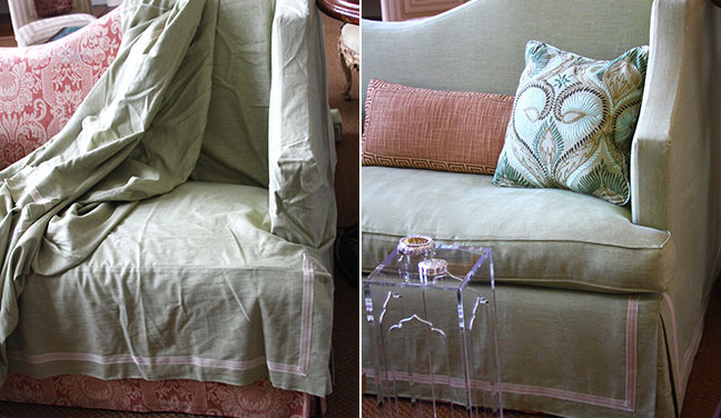 Slipcovers – Changing with the Seasons