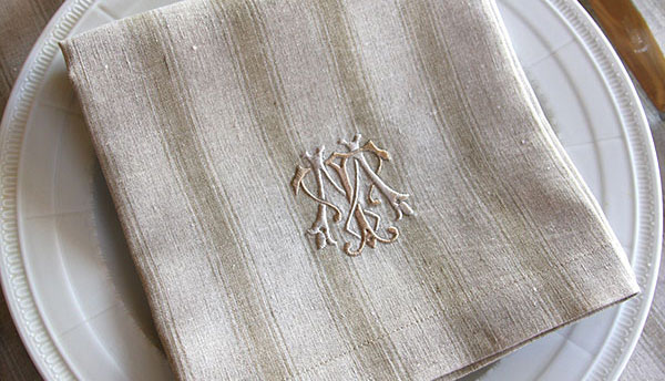 Caring for Table Linens