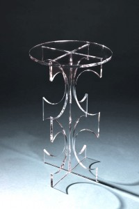 Amara Table - Clear