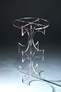 Clearly Classic Amara Table - Clear