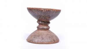 Hand-carved Senufo stool, circa 1900